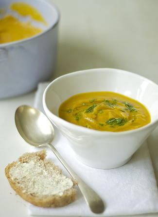 Butternut squash & Cinnamon Soup