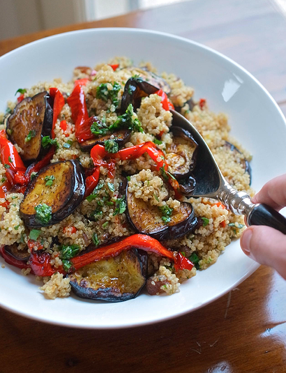 Roast Vegetable & Quinoa Salad