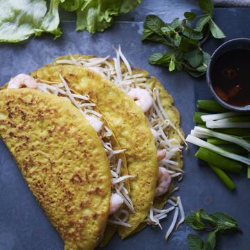 Vietnamese crispy pancake
