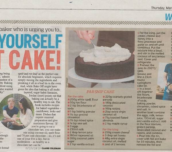 Metro Newspaper – Let Yourself Eat Cake!