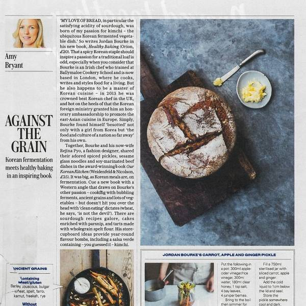 The Telegraph – review of Healthy Baking