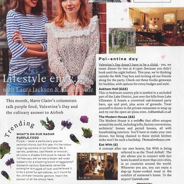 Marie Claire – Healthy Baking