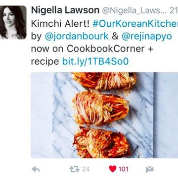 Nigella Lawson – features our kimchi
